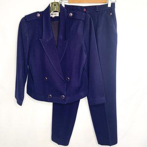 Vintage Monochromatic 2-Piece Suit Set
